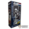 Display Box: Sideshow GI Joe Storm Shadow (EMPTY)