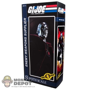 Display Box: Sideshow GI Joe Destro (EMPTY)