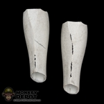 Armor: Sideshow Star Wars Clone Trooper Lower Leg (Battle Damage)