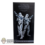 Display Box: Sideshow Star Wars Echo & Fives (EMPTY)