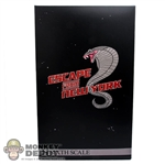 Display Box: Sideshow Snake Plissken (EMPTY)
