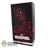 Display Box: Sideshow Deadpool (EMPTY BOX)