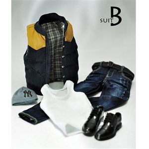 Uniform Set: Magic Cube Gilet w/ Contrast Trim Suit B (MCF-007B)