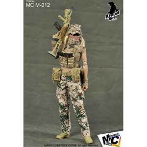 Uniform Set: Magic Cube Armed Girl Series Desert Flecktarn Armed Girl Suit (MCM-012)