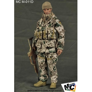 Uniform Set: Magic Cube KSK Germany's Special Forces Kommando Spezialkrafte Desert Flecktarn (MCM-011D)