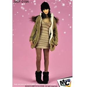 Uniform Set: Magic Cube Female Street Style A (MCF-019A)