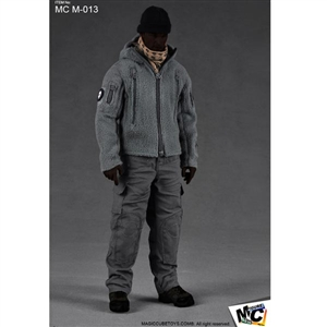 Clothing Set: Magic Cube Men's Grey Polartec Ranger Hoodie Set (MCM-013)