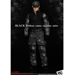 Clothing Set: Magic Cube Black Python Camo Combat Suit (MCM-061)