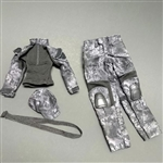 Uniform Set: Super MC Toys Female Black Python Camo Combat Set (MCF-061)