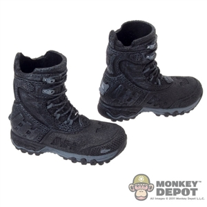 Boots: Magic Cube Slot Winter Grip Black