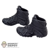 Shoes: Magic Cube Black Boots