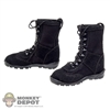 Boots: Magic Cube Black Russian X-Boots w/Ankle Pegs