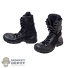 Boots: Magic Cube Black Assault Boots