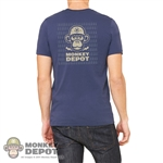 Monkey Depot Shirt: Mens Bullet Monkey