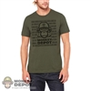 Monkey Depot Shirt: Mens Green Bullet Monkey