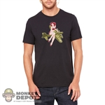 Monkey Depot Shirt: Mens Red Headed Bomber Girl