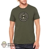 Monkey Depot Shirt: Mens Green Monkey Crew T-Shirt