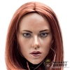Head: MIS Toys Scarlett Johansson Red Hairstyle