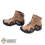 Boots: Mini Times Molded Tactical Boots w/Pegs