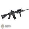 Rifle: Mini Times M4 Carbine w/Sight, Laser, Grip & Light