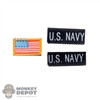 Insignia: Mini Times Navy Patch Set