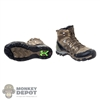 Boots: Mini Times Salomon Quest 4D GTX w/Pegs