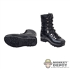 Boots: Modeling Toys Black Molded Elite Light Boots
