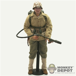 A Monkey Depot Store Display: Soldier Story US Marine Corps Flamethrower