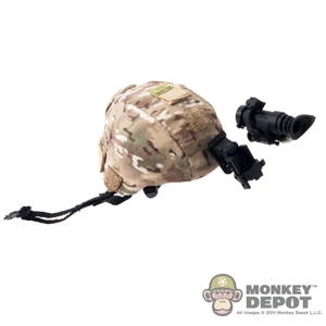 Helmet: Very Hot Multicam Helmet w/NVG