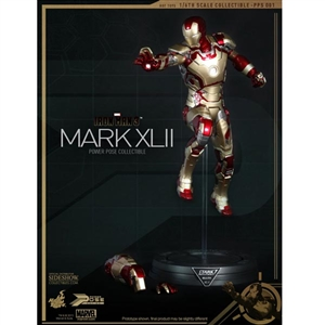 Boxed Figure: Hot Toys Iron Man Mark XLII- Power Pose Series (902017)