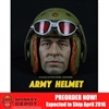 Helmet Set: Max Toys Army Tanker Helmet A96 w/Head (MT-003HA96)