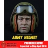 Helmet Set: Max Toys Army Tanker Helmet A97 w/Head (MT-003HA97)