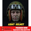 Helmet Set: Max Toys Army Tanker Helmet A98 w/Head (MT-003HA98)