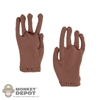 Gloves: Max Toys Tan/Brown Gloves