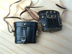 Case Newline Miniatures German WWII Binoculars Case Black Leather