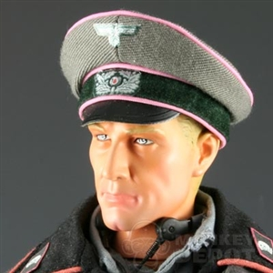 Hat Newline Miniatures German WWII Crusher Heer Panzer Light Pink Piping