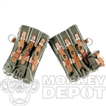 Ammo Newline Miniatures German WWII MP40 Pouches Pair Green