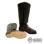 Boots Newline Miniatures  Western Mule Ear Black
