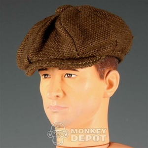 Hat Newline Miniatures Newsboy Cap Brown