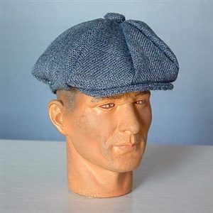 Hat Newline Miniatures Newsboy Cap Grey/Blue