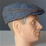 Hat Newline Miniatures Driving Cap Denim