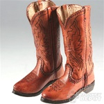 Boots: Newline Miniatures Cowboy Brown