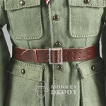 Belt: Newline Miniatures German WWII Officer Open Buckle Brown