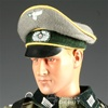 Hat: Newline Miniatures German WWII Crusher Heer Yellow Piping