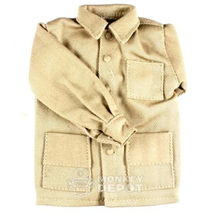Jacket: Newline Miniatures Civilian Work Jacket Tan