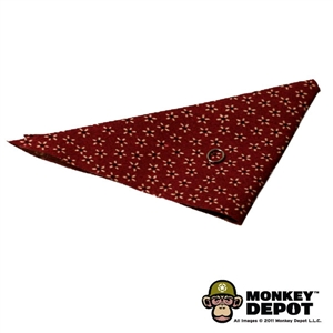 Scarf: Newline Miniatures Cowboy Bandana w/ Metal Ring (Red)