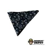 Scarf: Newline Miniatures Cowboy Bandana w/ Metal Ring (Blue)