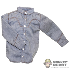Shirt: Newline Miniatures Cowboy Shirt - Grey