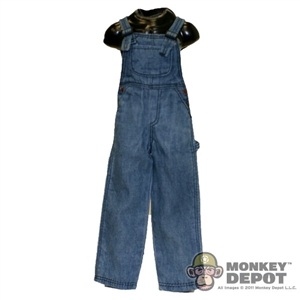 Pants: Newline Miniatures Denim Overalls - Worn