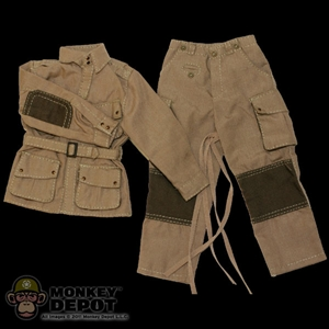 Uniform: Newline Miniatures US WWII M42 Paratrooper w/Rigger Pouches